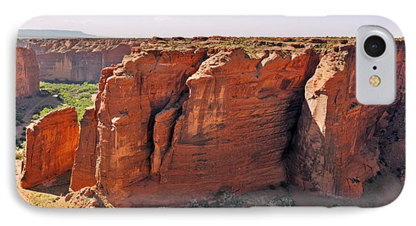 Canyon De Chelly - View From Sliding House Overlook Phone Case by Christine Till