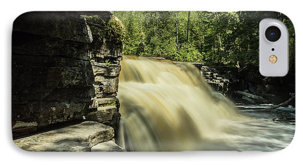 Canyon Falls IPhone Case by Jill Laudenslager