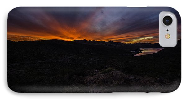 Canyon Lake Sunset Phone Case by Bill Cantey