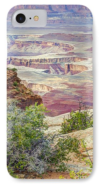 IPhone Case featuring the photograph Canyon Lands by Wanda Krack
