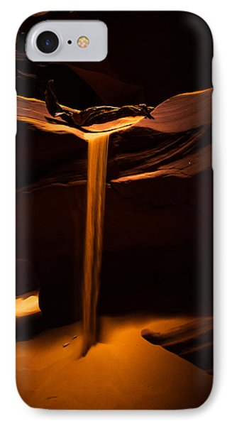 Canyon Sand From Above Phone Case by Bill Cantey