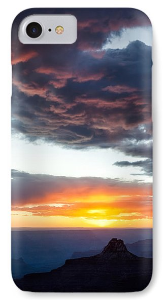 Canyon Sunset Phone Case by Dave Bowman