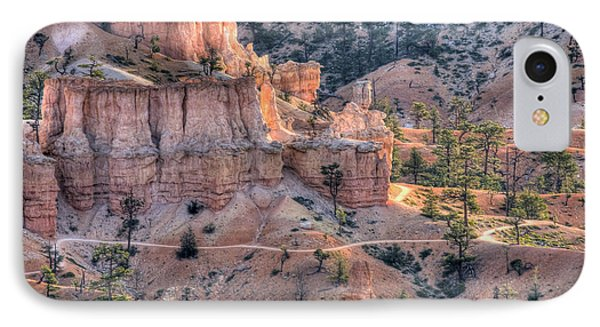 IPhone Case featuring the photograph Canyon Trails by Wanda Krack