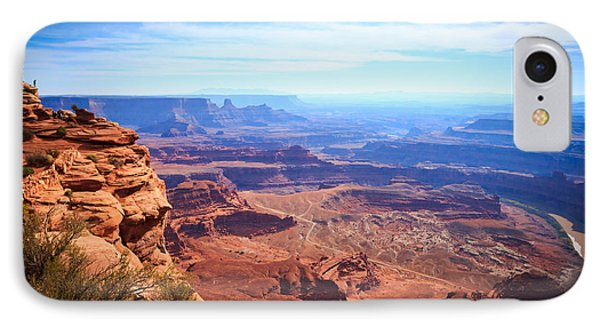 IPhone Case featuring the photograph Canyonlands - A Landscape To Get Lost In by Peta Thames