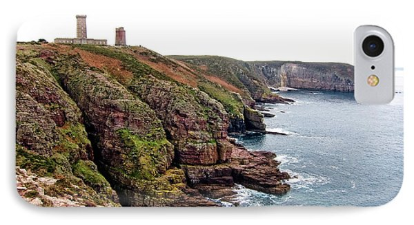 Cap Frehel In Brittany France Phone Case by Olivier Le Queinec