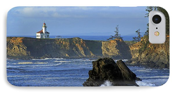 Cape Arago Lighthouse IPhone Case
