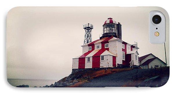 Cape Bonavista Lighthouse IPhone Case by Zinvolle Art