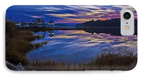 Cape Charles Sunrise IPhone Case by Suzanne Stout