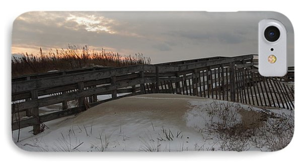 Cape Charles Winter IPhone Case