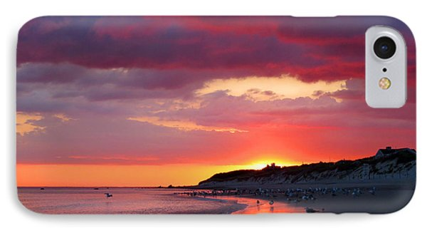 Cape Cod Bay At Sunrise IPhone Case by Dianne Cowen