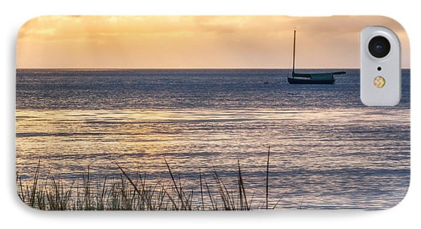 Cape Cod Bay Square Phone Case by Bill Wakeley