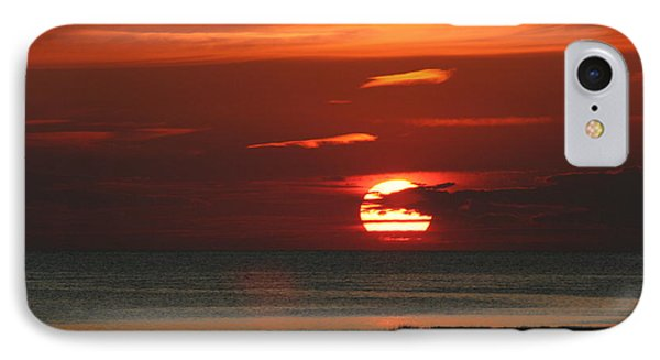Cape Cod Bay Sunset IPhone Case by Jim Gillen