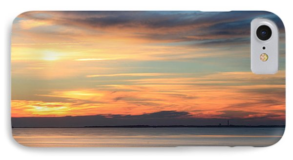 Cape Cod Bay Sunset IPhone Case by John Burk