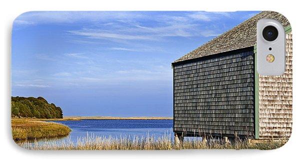 Cape Cod Boathouse IPhone Case by John Greim