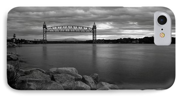 Cape Cod Canal Train Bridge IPhone Case by Amazing Jules