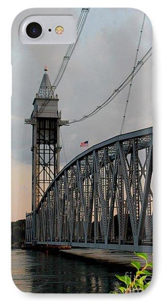 Cape Cod Canal Train Bridge Art Print IPhone Case