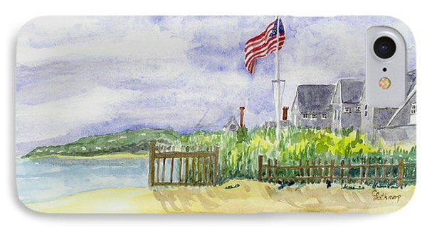 Massachusetts -cape Cod Cottages IPhone Case by Christine Lathrop