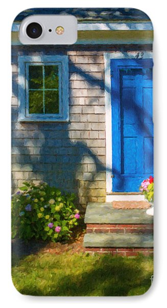Cape Cod House IPhone Case by Diane Diederich