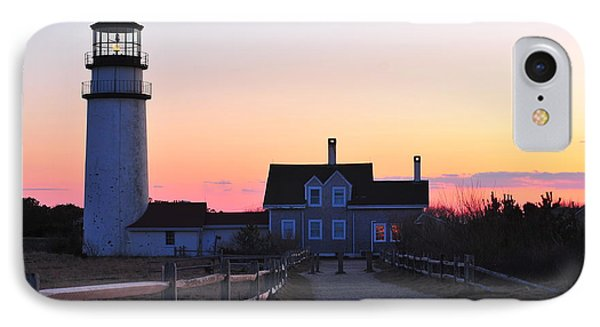 Cape Cod Light Phone Case by Catherine Reusch Daley