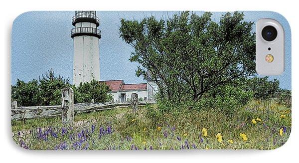 Cape Cod Lighthouse Phone Case by John Haldane