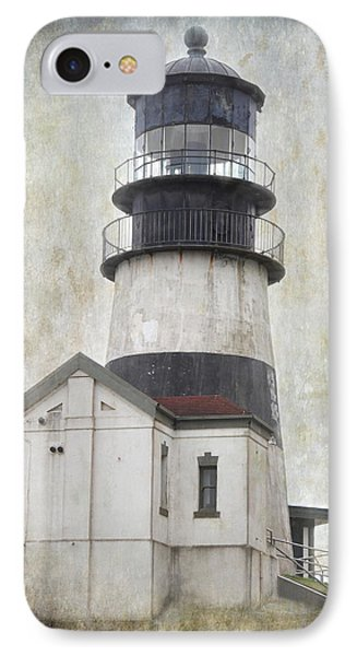 Cape Disappointment Lighthouse IPhone Case by Angie Vogel