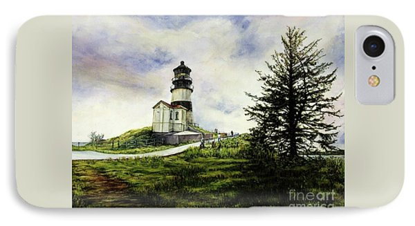 Cape Disappointment Lighthouse On The Washington Coast IPhone Case