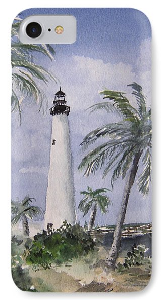 Cape Florida Light Phone Case by Stephanie Sodel