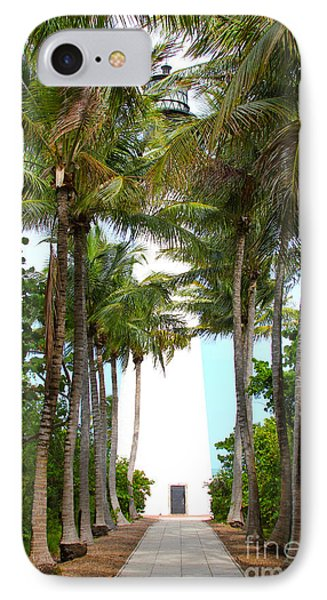 Cape Florida Walkway Phone Case by Carey Chen
