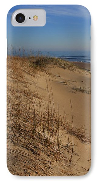Cape Hatteras Dunes-outer Banks North Carolina IPhone Case by Mountains to the Sea Photo