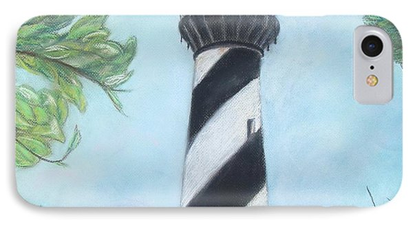 Cape Hatteras Light IPhone Case by Cathy Lindsey
