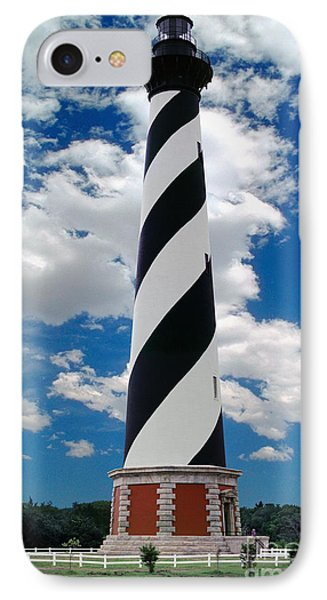 Cape Hatteras Light Station IPhone Case by Wernher Krutein
