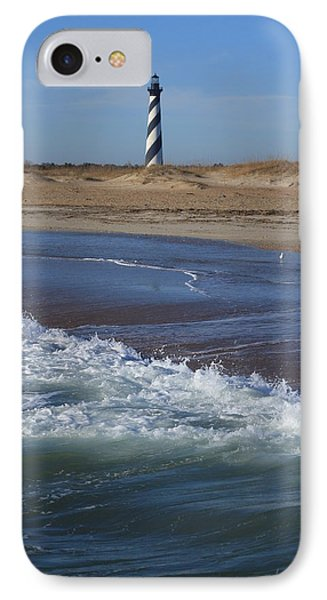 IPhone Case featuring the photograph Cape Hatteras Lighthouse Nc by Mountains to the Sea Photo