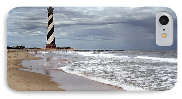 IPhone Case featuring the photograph Cape Hatteras Lighthouse by Tom Brickhouse