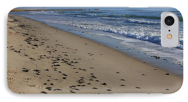 Cape Hatteras - Mermaid's Purse Laiden Beach IPhone Case by Mountains to the Sea Photo