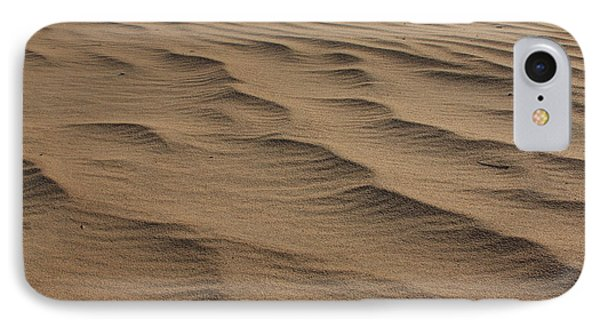 IPhone Case featuring the photograph Cape Hatteras Ripples In The Sand-north Carolina by Mountains to the Sea Photo