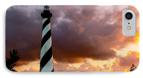 Cape Hatteras Sunset IPhone Case by Nick Zelinsky