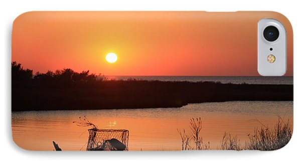 IPhone Case featuring the photograph Cape Hatteras Sunset-north Carolina by Mountains to the Sea Photo