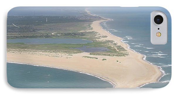 Cape Hatteras The Postcard IPhone Case by Cathy Lindsey