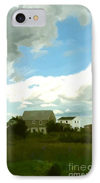 Cape House IPhone Case by Paul Tagliamonte