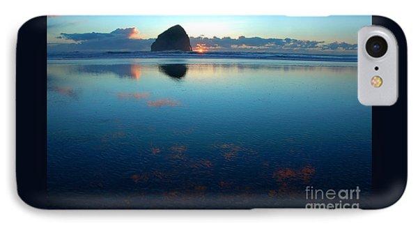 IPhone Case featuring the photograph Cape Kiwanda Seascape by Nick  Boren