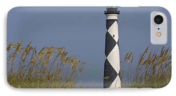 Cape Lookout Lighthouse IPhone Case by Bob Decker