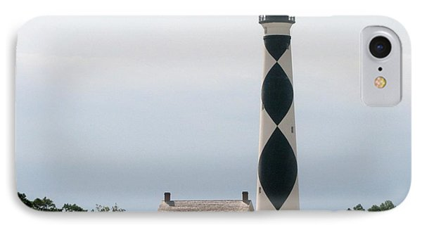 Cape Lookout Lighthouse IPhone Case by Dan Williams