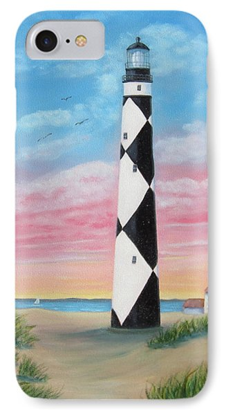 Cape Lookout Sunset IPhone Case by Fran Brooks