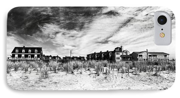 Cape May Beach Houses Phone Case by John Rizzuto