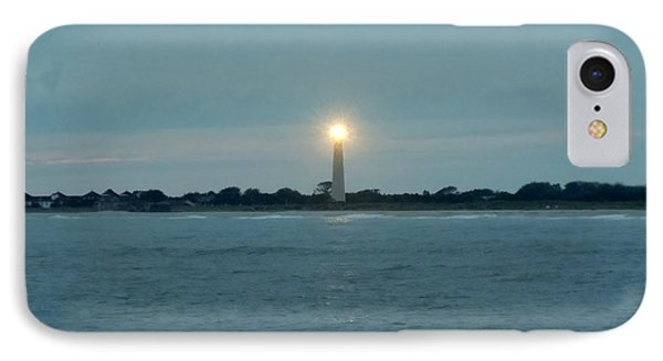 IPhone Case featuring the photograph Cape May Beacon by Ed Sweeney