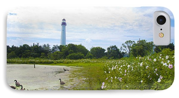 Cape May Lighthouse - New Jersey IPhone Case by Bill Cannon