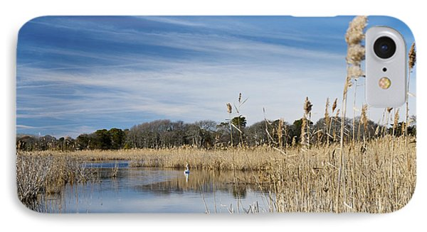 Cape May Marshes Phone Case by Jennifer Ancker