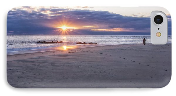 Cape May Point Winter Sunset IPhone Case