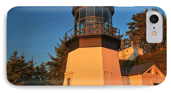 Cape Meares Lighthouse Complex IPhone Case by Adam Jewell