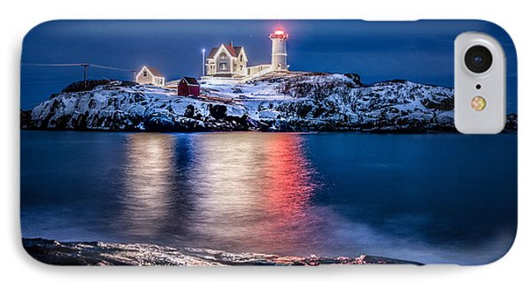 IPhone Case featuring the photograph Cape Neddick Lighthouse by Robert Clifford
